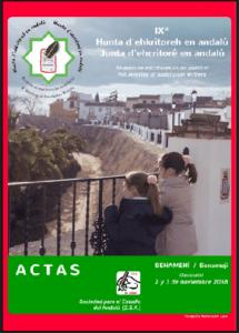 Ahtā e la Hunta d´Ehcritorē en Andalú IX