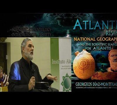 Conferencia sobre la Atlántida en Jaén por Georgeos Díaz-Montexano.