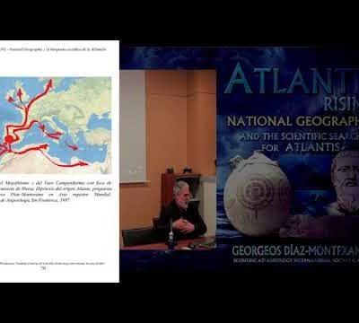 Conferencia sobre la Atlántida Histórico-Científica. Universidad de Granada 04/03/2019.