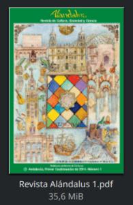 Revista Alándalus nº 1