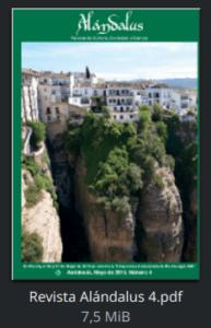 Revista Alándalus nº 4