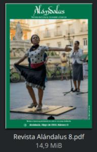 Revista Alándalus nº 8