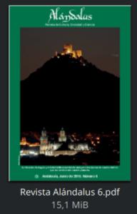 Revista Alándalus nº 6