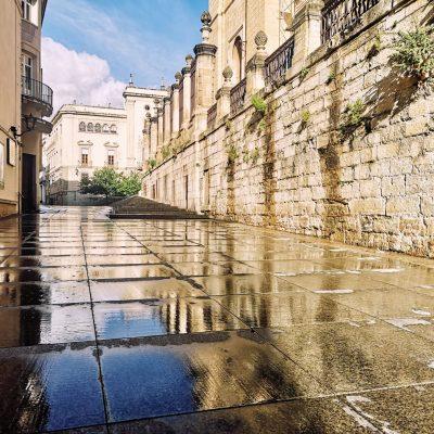 Calle Carrera de Jesús después de la tormenta - JAVIER LEÓN COTARELO